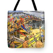 Cocoa Beach Pier/surf Festavil Tote Bag