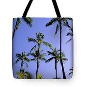 Coconut Grove At Wailua Tote Bag
