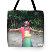 Coconut Man Tote Bag