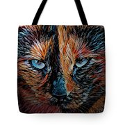 Coconut The Feral Cat Tote Bag