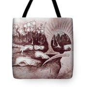 Coconut's Forest Tote Bag