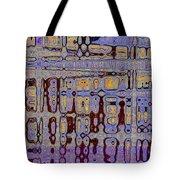 Code Abstract Tote Bag