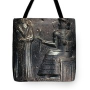 Code Of Hammurabi (detail) Tote Bag by Granger