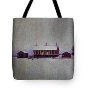 Codori Farm At Gettysburg In The Snow Tote Bag