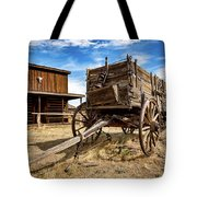 Cody Wagon Train Tote Bag