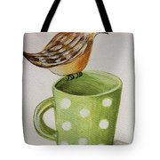 Coffee And A Friend Tote Bag