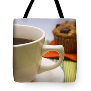 Coffee And Chocolate Muffin Tote Bag