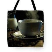 Coffee And Cream Tote Bag
