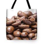 Coffee Beans Closeup Tote Bag