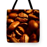 Coffee  Beans- Gold Tote Bag