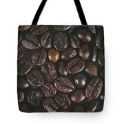 Coffee Beans Texture Tote Bag