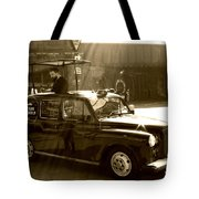 Coffee Cab Tote Bag
