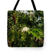 Coffee Cherries Tote Bag