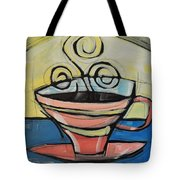 Coffee Cup Four Tote Bag