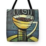 Coffee Cup Three Tote Bag