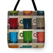 Coffee Cups Tote Bag