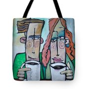 Coffee Date Tote Bag