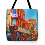 Coffee Depot Cafe And Terrace Tote Bag
