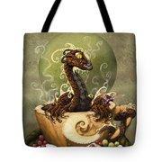 Coffee Dragon Tote Bag