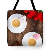 Coffee For Two Tote Bag