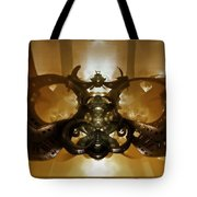 Coffee Glasses-looking-glass Tote Bag