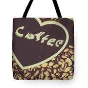 Coffee Heart Tote Bag