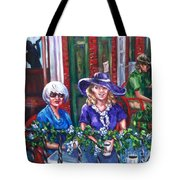 Coffee In Pirates' Alley Tote Bag