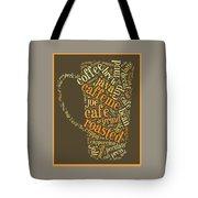 Coffee Lovers Word Cloud Tote Bag