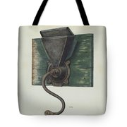 Coffee Mill Tote Bag