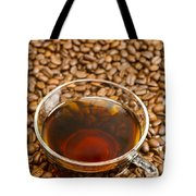 Coffee On Roasted Beans Tote Bag