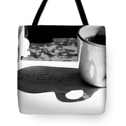 Coffee Poetry Tote Bag