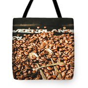 Coffee Service Scene Tote Bag
