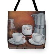 Coffee Set Tote Bag