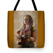 Coffee Shop Girl Tote Bag
