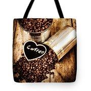Coffee Shop Love Tote Bag
