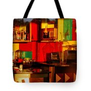 Coffee Shop Tote Bag