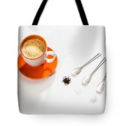 Coffee Sugar Cream Tote Bag