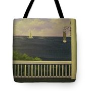 Coffee With A View Tote Bag