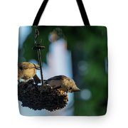 Coffee With The Birds Tote Bag