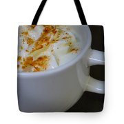 Coffee With Whipped Cream And Spices Tote Bag