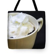 Coffee With Whipped Cream Tote Bag