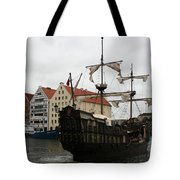 Cog On Wotlawa River Tote Bag