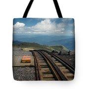 Cog Railway Stop Tote Bag