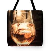 Cognac Glass On Bar Counter Tote Bag