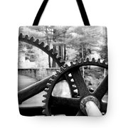 Cogs Tote Bag by Greg Fortier
