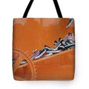 Cogs N Converse Tote Bag
