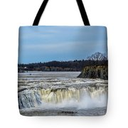 Cohoes Falls New York Tote Bag