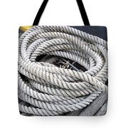 Coiled Rope  Tote Bag