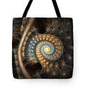 Coiled Spirals Tote Bag