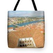 Coimbra Aerial View Tote Bag